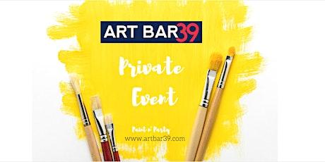 Private Art Bar 39 Party   Stephanie W tickets