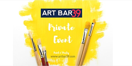 Private Art Bar 39 Party | Jenna B tickets