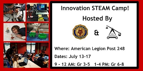 Innovation  STEAM  Camp AM Sessions tickets