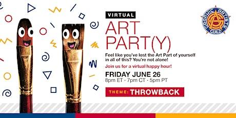 Art Part(y)! The Virtual Happy Hour tickets