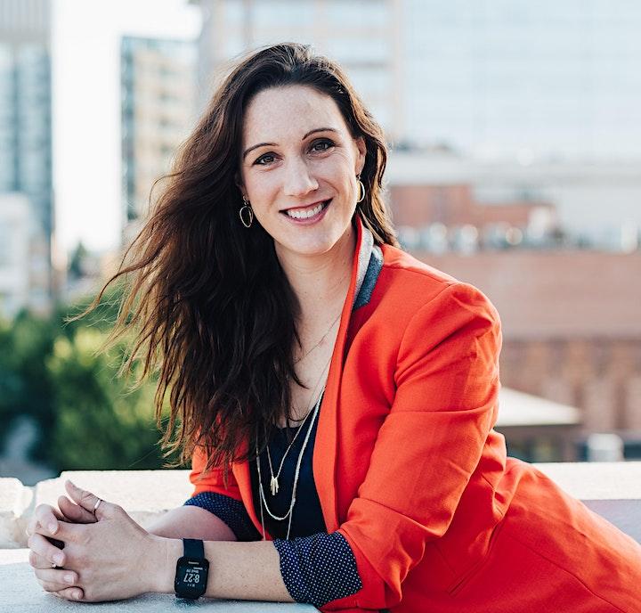 CBEX Virtual Speaker Series  July- Dr. Rebecca Heiss, Fear(less) Leadership image