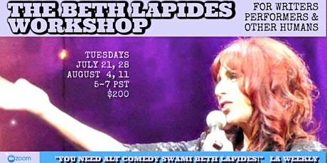 Beth Lapides Workshop Summer Session tickets