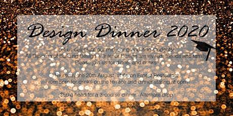 2020 Design Dinner tickets