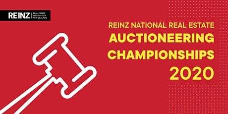 2020 REINZ National Real Estate Auctioneering Championships tickets