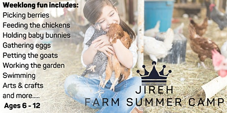 Jireh Farm Summer Day Camp IV tickets