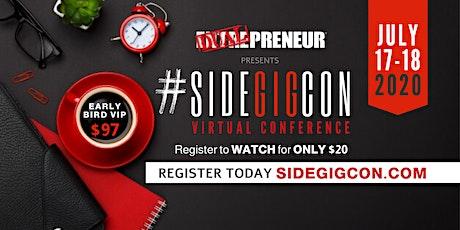 #SIDEGIGCON Virtual Conference tickets