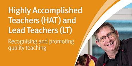 HAT and LT In Depth Workshop for Teachers - Warwick tickets