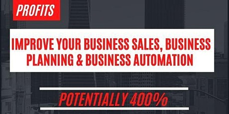 Are you a Business Owner seeking to grow your sales & scale your Business tickets
