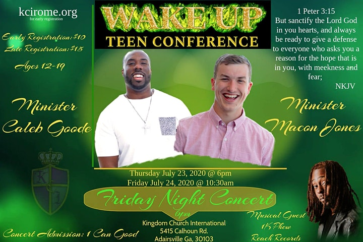 Wake Up Teen Conference image