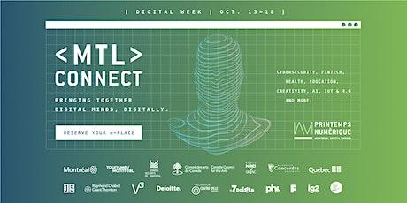 MTL connect: Digital Week • Online | MTL connecte : La Semaine numérique • En ligne  entradas