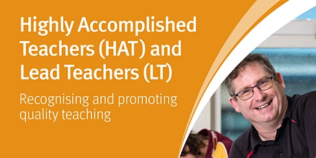 HAT and LT In Depth Workshop for Teachers - Logan tickets