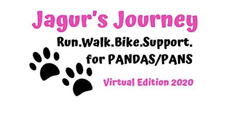 Jagur's Journey Virtual Run.Walk.Bike.Support for PANDAS/PANS tickets