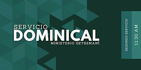 Servicio Dominical 11:30 AM tickets