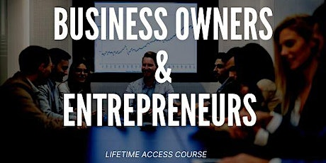 Want to learn Business strategies from seasoned Business owners tickets
