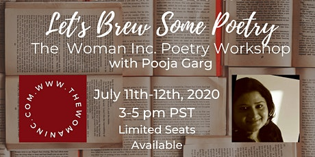 Narika Presents:  Let's Brew Some Poetry, The Woman Inc. Poetry Workshop tickets