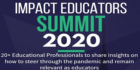 Impact Educators Summit tickets
