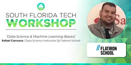 WORKSHOP | 'Data Science & Machine Learning Basics' (Flatiron School) tickets