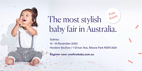 Australia's Most Stylish FREE Baby Fair SYDNEY 2020 tickets
