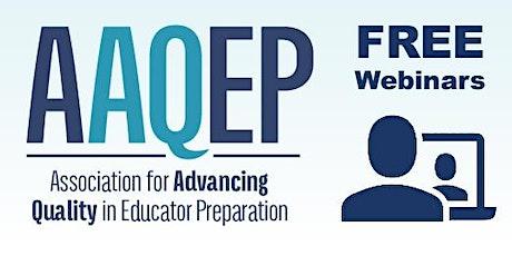 AAQEP Introductory Webinar tickets