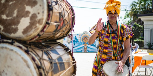 African Diasporic Rhythm & Song with Rene Fisher