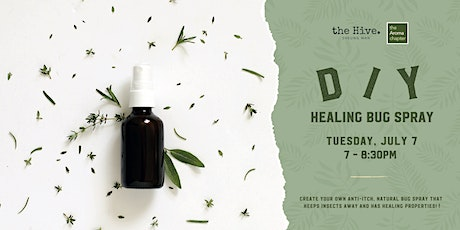 DIY Healing Bug Spray tickets