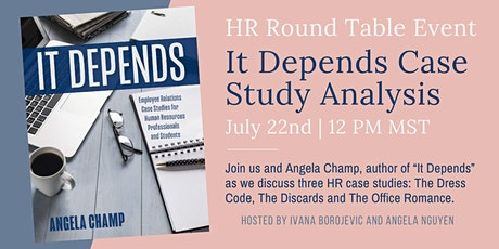 It Depends Case Study Analysis Tickets