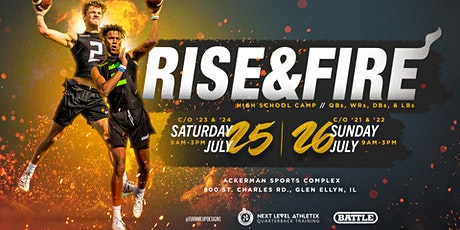 Rise & Fire Chicago Class of 2021/2022 Camp tickets