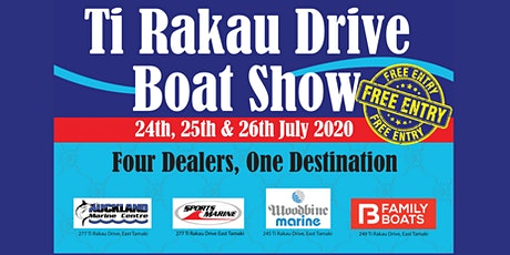 Ti Rakau Drive Boat Show tickets