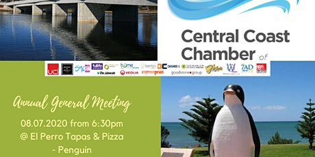 Central Coast Chamber of Commerce - Annual General Meeting 2020 tickets