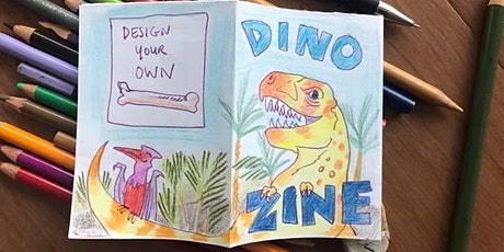 School Holiday Workshop - DINO ZINEs tickets