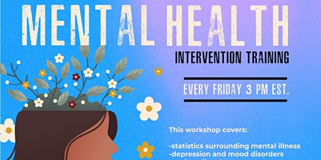 Mental Health Intervention Training (Virtual) tickets