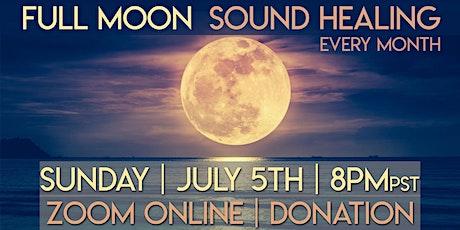 Full Moon Sound Healing & Meditation tickets