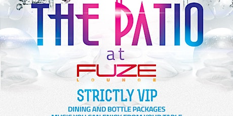 THE PATIO tickets