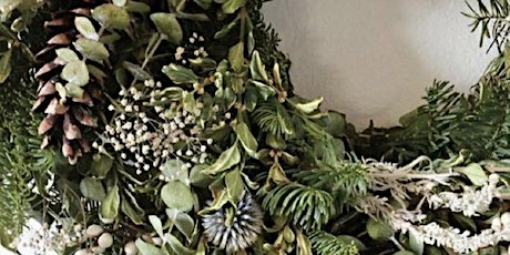 CHRISTMAS WREATH WORKSHOP WEDNESDAY 9TH DECEMBER 7-9pm tickets