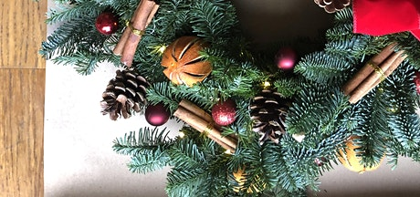 CHRISTMAS WREATH WORKSHOP THURSDAY 10TH DECEMBER 7-9pm tickets