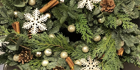 CHRISTMAS WREATH WORKSHOP FRIDAY 11TH DECEMBER 7-9pm tickets
