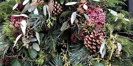 CHRISTMAS WREATH WORKSHOP SATURDAY 12TH DECEMBER 11-1pm tickets