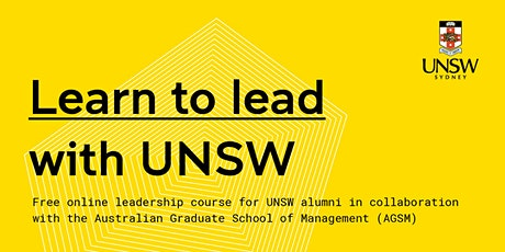 Learn to lead with UNSW tickets