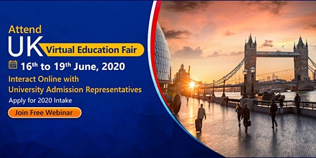 Attend KC's UK Virtual Education Fair from 16th to 19th June 2020 tickets