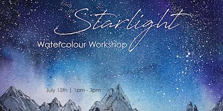 Starlight - ONLINE Watercolour Workshop tickets