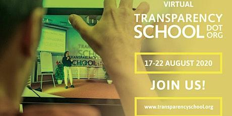 Transparency International School on Integrity 2020 tickets