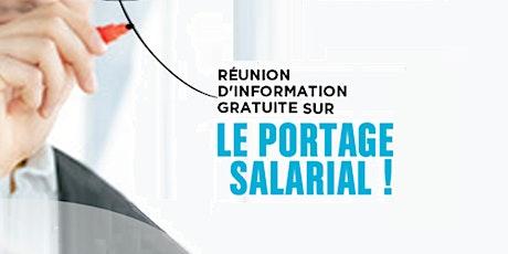 Réunions d'informations - Découvrir le portage salarial billets