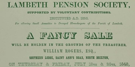 The Early History of Pensions tickets