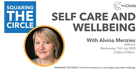 Squaring The Circle on Self-care and Wellbeing with Alvina Menzies tickets