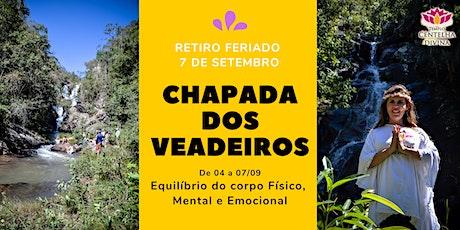Retiro Feriado 07 de Setembro  na Chapada dos Veadeiros - Alto Paraíso/GO ingressos