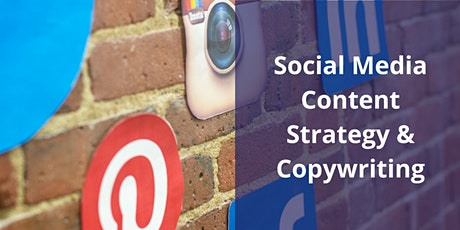 Social Media Content Strategy & Copywriting training tickets
