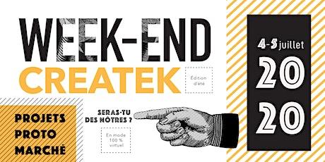 Weekend Createk - édition d'été billets