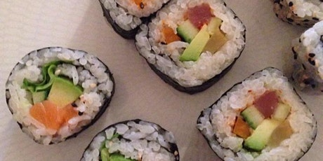 Online Sushi Making class tickets