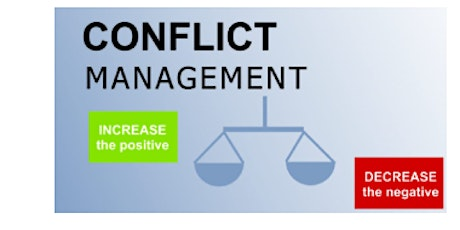Conflict Management Virtual Live Training in Townsville on 21st Aug, 2020 tickets