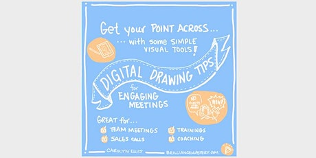 Digital Drawing Tips for Engaging Meetings tickets